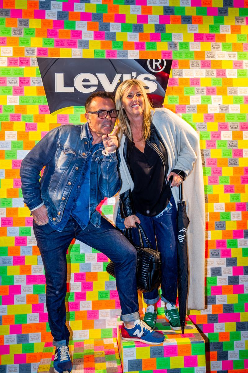 Photo portrait soirée Levis