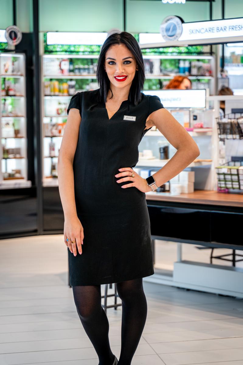 Photo portrait équipière Sephora