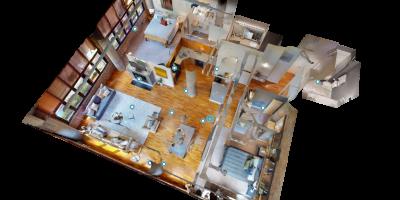 maison 3d Matterport